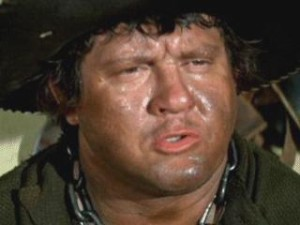 This isn't Richie Incognito, but Mongo from Blazing Saddles comes pretty close.