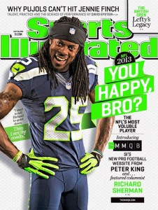 What a disgusting color. (Richard Sherman would read that as a racial jibe when I was actually commenting on the Marian puke green that the Seahawks use. Let fluorescents remain in the 80s, boys.)