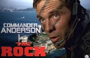michael biehn commander andrson the rock