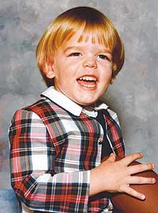Baby Carson Palmer looks disturbingly similar to adult Bud Cort.