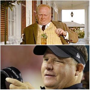 Chip Kelly, onetime Oregon coach and full-time Auric Goldfinger lookalike, has been fired by the Philadelphia Eagles.
